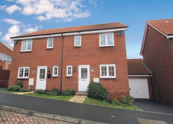 3 bed semi-detached house for sale in Wheatsheaf, Cranbrook, Exeter EX5