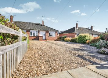 Thumbnail 2 bed semi-detached bungalow for sale in Westry Close, Barrowby, Grantham