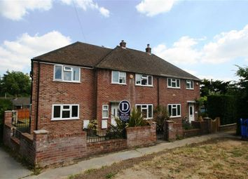 Thumbnail 4 bed semi-detached house to rent in Owen Road, Shaw, Newbury