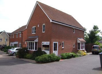 Thumbnail 4 bed detached house for sale in Heron Road, Saxmundham