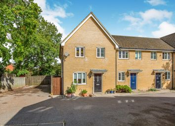 Thumbnail 3 bed end terrace house for sale in Heron Road, Saxmundham