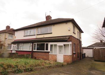 Thumbnail 3 bed semi-detached house for sale in Argie Avenue, Burley, Leeds