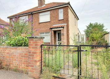 Thumbnail 2 bedroom semi-detached house for sale in Blenheim Road, Sprowston, Norwich