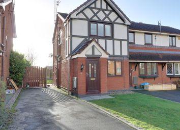 Thumbnail 2 bed semi-detached house to rent in Osborne Close, Ettliey Heath, Sandbach