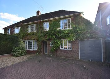 Thumbnail 4 bed semi-detached house to rent in Love Lane, Donnington, Newbury