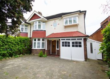Thumbnail 4 bed semi-detached house for sale in Selborne Road, Sidcup, Kent