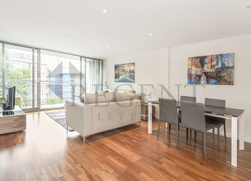 Thumbnail 2 bed flat to rent in Millennium Court, Waterloo Road, London