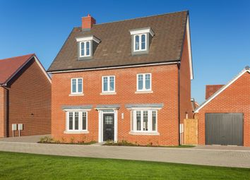 "Thumbnail 5 bedroom detached house for sale in ""Emerson"" at Broughton Crossing, Broughton, Aylesbury"