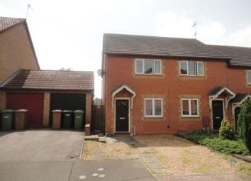 Thumbnail 2 bedroom end terrace house to rent in Lornas Field, Peterborough