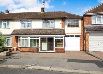 Thumbnail 5 bed semi-detached house for sale in Greenbank Drive, Oadby, Leicester