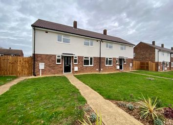 Thumbnail 3 bed semi-detached house for sale in Embry Road, Wittering, Peterborough