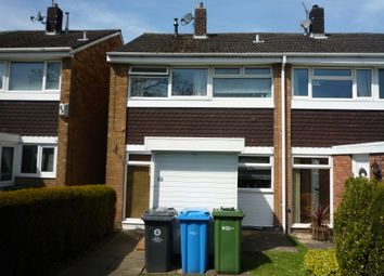 Thumbnail 3 bed town house to rent in Wolverhampton Road, Penkridge