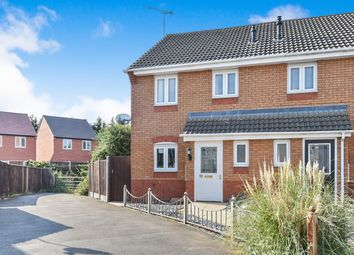 Thumbnail 3 bed semi-detached house for sale in Bramling Cross Road, Burton-On-Trent