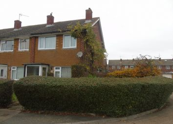 Thumbnail 3 bed end terrace house for sale in Tugwell Road, Eastbourne
