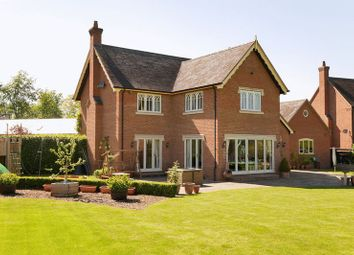 Thumbnail 4 bed detached house for sale in Cound Park Drive, Cound, Shrewsbury