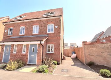 Thumbnail 3 bed semi-detached house for sale in Velveteen Crescent, Worsley, Manchester