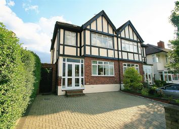 Thumbnail 4 bed semi-detached house for sale in Chinnor Crescent, Greenford