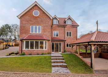 Thumbnail 5 bed detached house for sale in Stanton Close, Dereham