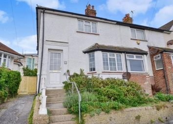 Thumbnail 3 bed end terrace house for sale in Park Crescent, Rottingdean, Brighton, East Sussex