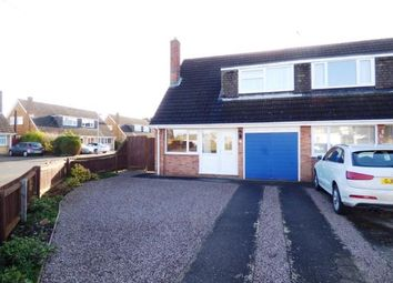 Thumbnail 3 bed bungalow for sale in Caryer Close, Orton Longueville, Peterborough, Cambridgeshire