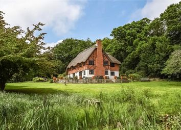 Thumbnail 4 bed detached house for sale in Old Vicarage Lane, Sway, Lymington, Hampshire