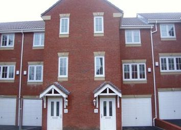 Thumbnail 4 bed terraced house to rent in Spring Place Gardens, Mirfield
