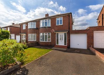 Thumbnail 3 bed semi-detached house for sale in Winchester Walk, Wideopen, Newcastle Upon Tyne