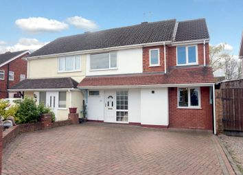 Thumbnail 4 bed semi-detached house for sale in Highcliffe Road, Tamworth