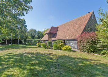 Thumbnail 4 bed barn conversion for sale in Sutton Baron Road, Borden, Sittingbourne