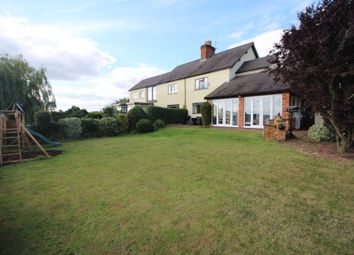 Thumbnail 4 bed semi-detached house for sale in Barkby Thorpe Lane, Syston