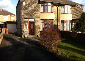 Thumbnail 3 bedroom semi-detached house to rent in Gain Lane, Bradford