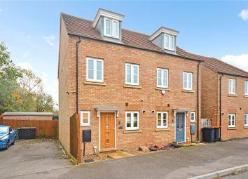 Turnham Drive, Leighton Buzzard, Bedfordshire LU7. 3 bed semi-detached house for sale