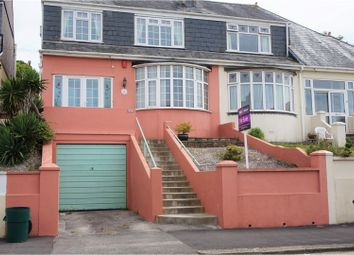 Thumbnail 3 bed semi-detached house for sale in Weston Park Road, Plymouth