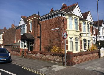 Thumbnail 3 bedroom end terrace house for sale in Stubbington Avenue, Portsmouth