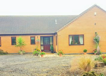 Thumbnail 4 bed bungalow for sale in Straight Drove, Farcet Peterborough