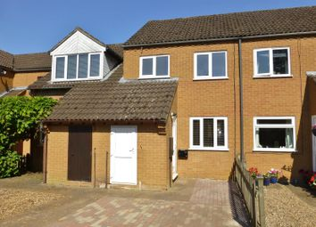 Thumbnail 2 bed terraced house to rent in Willow Close, Uppingham, Oakham