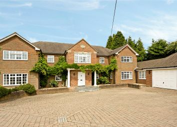 Thumbnail 5 bedroom detached house for sale in Babylon Lane, Lower Kingswood, Tadworth, Surrey