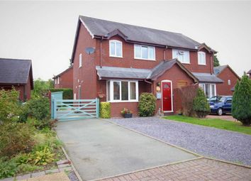 Thumbnail 3 bed semi-detached house for sale in 3, Willow Close, Four Crosses, Llanymynech, Powys