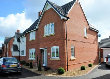 Thumbnail 4 bedroom detached house for sale in Moat Close, Newbold Verdon