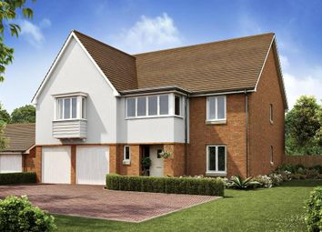 "Thumbnail 5 bedroom detached house for sale in ""Hatherley"" at Langmore Lane, Lindfield, Haywards Heath"
