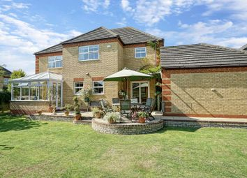 Thumbnail 5 bed detached house for sale in Station Road, Warboys, Huntingdon