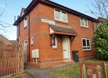 Thumbnail 2 bed semi-detached house to rent in Fayrhurst Road, Leicester