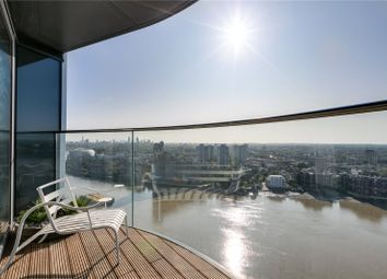 Thumbnail 4 bed flat for sale in Chelsea Waterfront, Tower West, One Waterfront Drive, London
