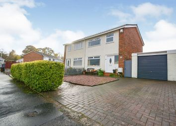 Thumbnail 3 bed semi-detached house for sale in Ben More Drive, Paisley