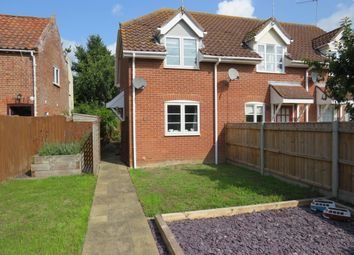 Thumbnail 1 bed end terrace house for sale in The Green, Earsham, Bungay