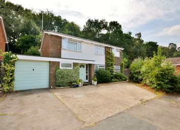 Thumbnail 5 bed detached house for sale in Finch Close, Knaphill, Woking