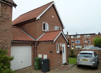 Thumbnail 3 bed link-detached house to rent in Constable Court, Harleston, Norfolk