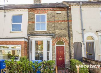 Thumbnail 3 bedroom terraced house for sale in Denbigh Road, Norwich