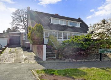 Thumbnail 2 bedroom semi-detached house for sale in Rotherhill Road, Crowborough, East Sussex