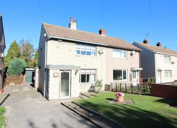 Thumbnail 2 bed semi-detached house for sale in Station Road, Kippax, Leeds